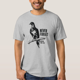Never Forget Passenger Pigeon Martha Tee Shirts