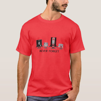 Never Forget  (Red) T-Shirt