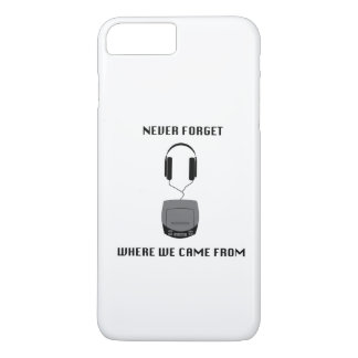 Never Forget The CD Player Cell Phone Case