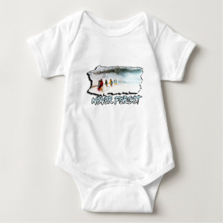 Never Forget the Trail of Tears Baby Bodysuit