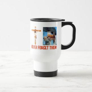 NEVER FORGET THEM COFFEE MUG