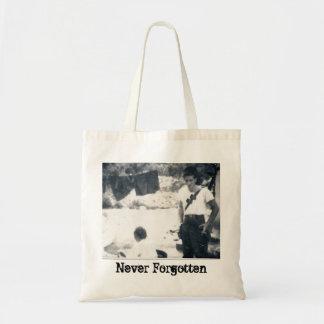 """Never Forgotten"" Korean War Tote Bag"
