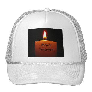 Never Forgotten Remembrance Candle Flame Cap