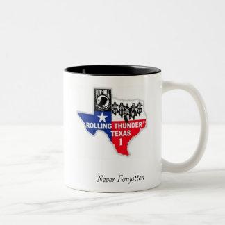 Never Forgotten Two-Tone Coffee Mug