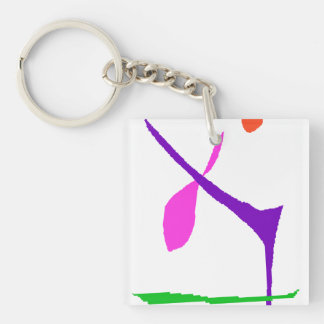 Never Get bored Key Ring