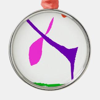 Never Get bored Metal Ornament