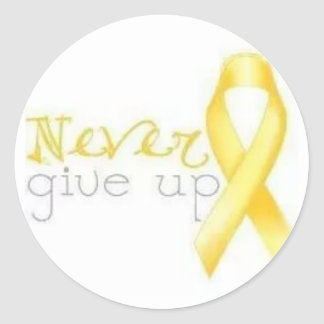 Never Give Up Endometriosis Sticker
