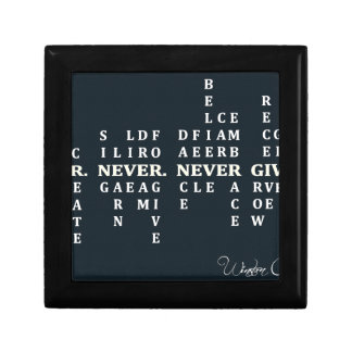 Never Give Up Gift Box