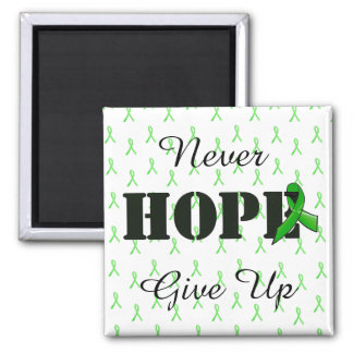 Never Give Up, Hope Lyme Disease Awareness Magnet