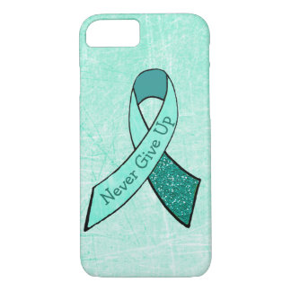 Never Give Up MG Awareness Phone Case