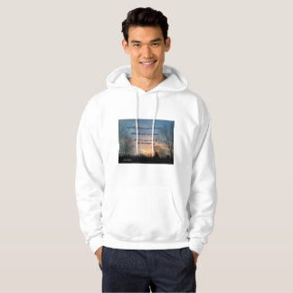 NEVER GIVE UP  MIKE PENCE HOODED SHIRT