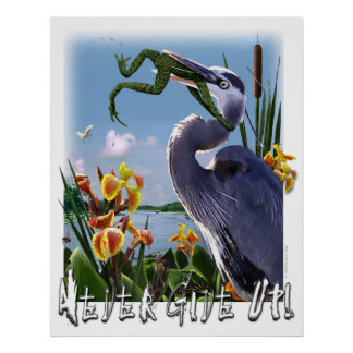 Never Give Up! Poster