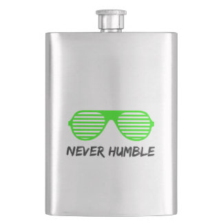 Never Humble Flask