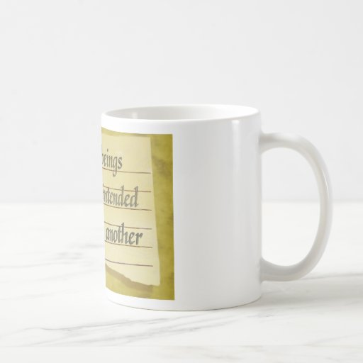 Never Intended To Injure One Another Mug