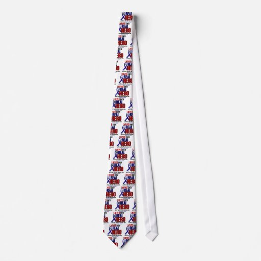 Never Knew A Hero 2 Brother (Support Our Troops) Tie