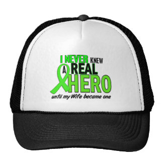 Never Knew A Hero 2 LIME GREEN (Wife) Trucker Hat