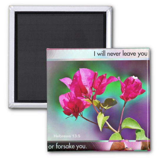 Never Leave You magnet