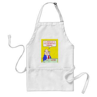 never lie figuratively speaking standard apron