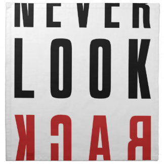 Never Look Back Napkin