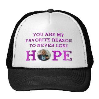 Never Lose Hope - Audrey Trucker Hats