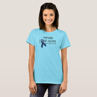 Never Lose Hope Colon Cancer Awareness T-Shirt
