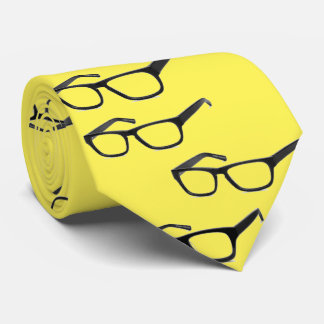 Never Lose Your Glasses: Black Frames Tie