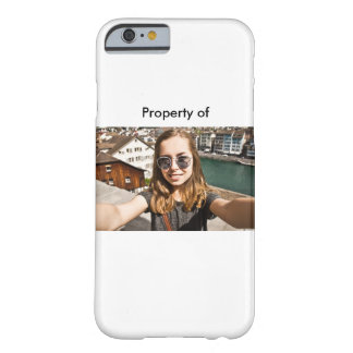 Never lose your Selfie branded phone Barely There iPhone 6 Case