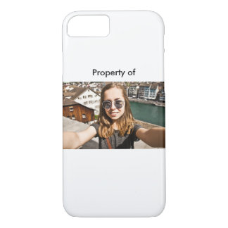 Never lose your Selfie branded phone iPhone 7 Case