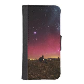 Never Lose Your Wonder Fractalscape iPhone SE/5/5s Wallet Case