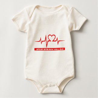 NEVER MISS the BEAT not DOES NOT LOSE the Baby Bodysuit
