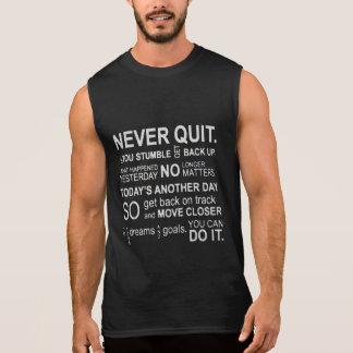 Never Quit Gym Motivation Tanks
