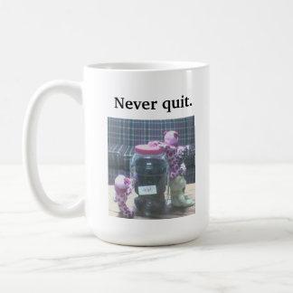 Never Quit mug