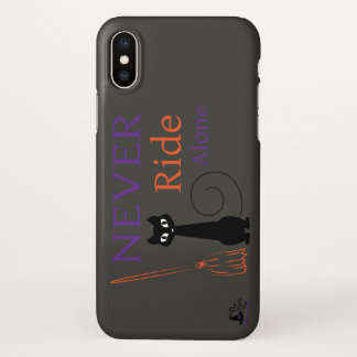Never Ride Alone IPhone X Case
