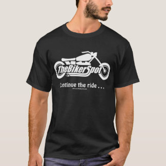 Never ride faster than your guardian angel can fly T-Shirt
