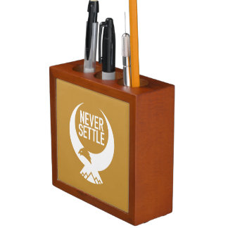 Never Settle Desk Organiser