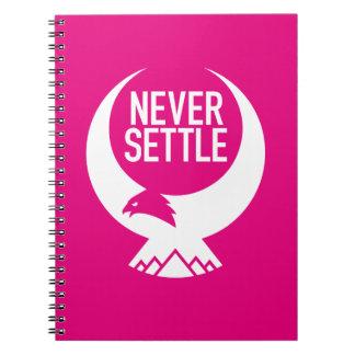 Never Settle Notebook
