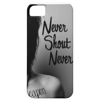 Never Shout Never Iphone 5 Case