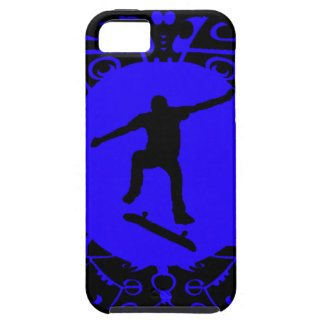 NEVER SKATE BLUES iPhone 5 COVER