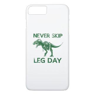 Never Skip Leg Day iPhone 7 Plus Case