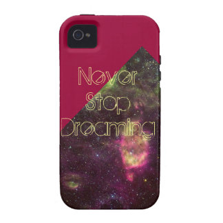 Never Stop Dreaming Iphone 4/4S Case