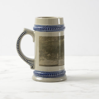 Never storm the castle with a thirst! beer stein
