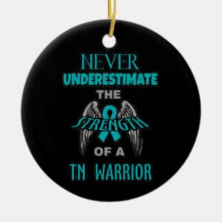 Never...TN Warrior Ceramic Ornament