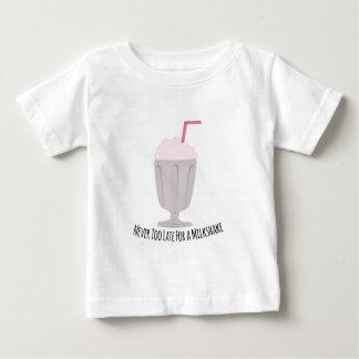 Never Too Late For A Milkshake T-shirts