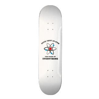 Never trust an Atom 20 Cm Skateboard Deck
