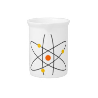 Never Trust An Atom - Funny Science Pitcher