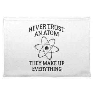 Never Trust An Atom Placemat