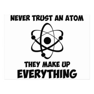 Never Trust An Atom Postcard