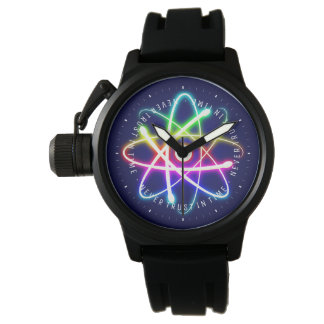 Never Trust in Time | Funny Science Gifts Wristwatches