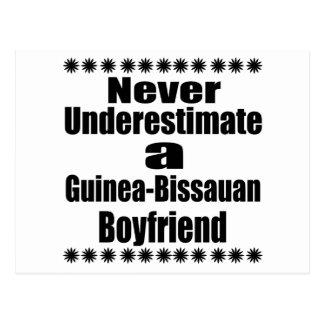 Never Underestimate A Guinea-Bissauan Boyfriend Postcard