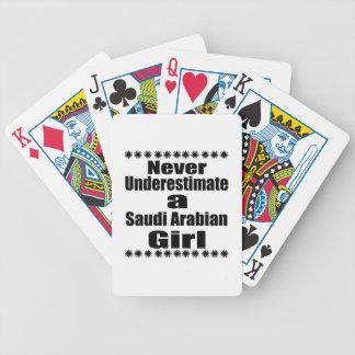 Never Underestimate A Saudi Arabian Girlfriend Poker Deck